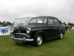 Austin A55 - Mine was Blue
