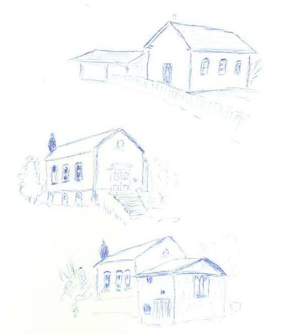 Adjala_United_Church_Sketch