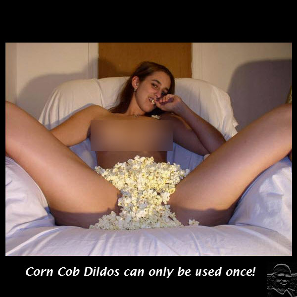 Old ladies dildo cucumber corn cob  Nice