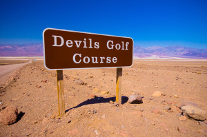 The Devil's Golf Course